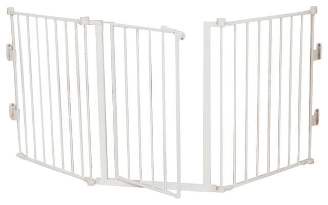 Regalo 76 Inch Wide Configurable Gate Contemporary