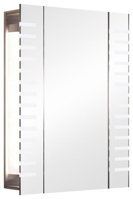 RGB Demister Bathroom Mirror Cabinet, 40x60 cm