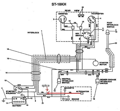simplicity wiring harness simplicity wiring diagram wiring diagram and schematic design 1692454 simplicity sunstar 20 hp hydrostatic lawn tractor