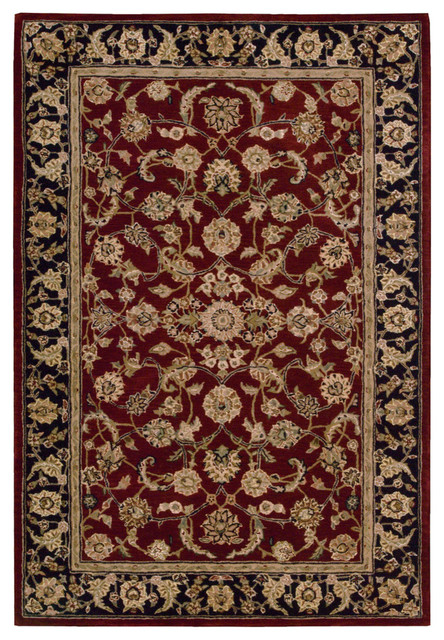 Nourison 2 X3 2000 Burgundy Rectangle Area Rug