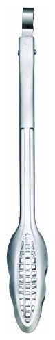 Cuisipro Stainless Steel Narrow Grill/fry Tongs, Silver.