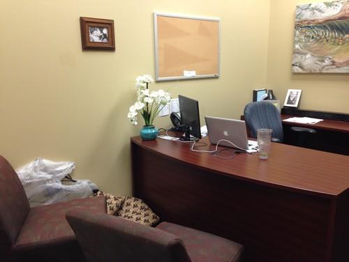 Need Help with Office Decor - Big Beige Box