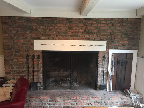 Brick Fireplace Redo or Not?