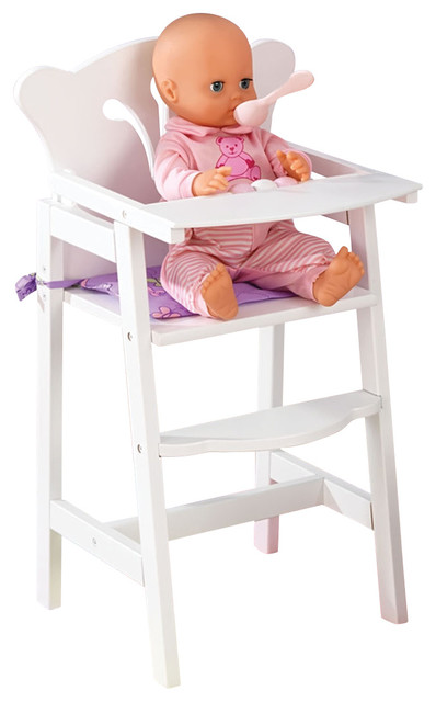 Beau Kidkraft Kids Children Home Indoor Pretend Play Toy Lilu0027 Doll High Chair