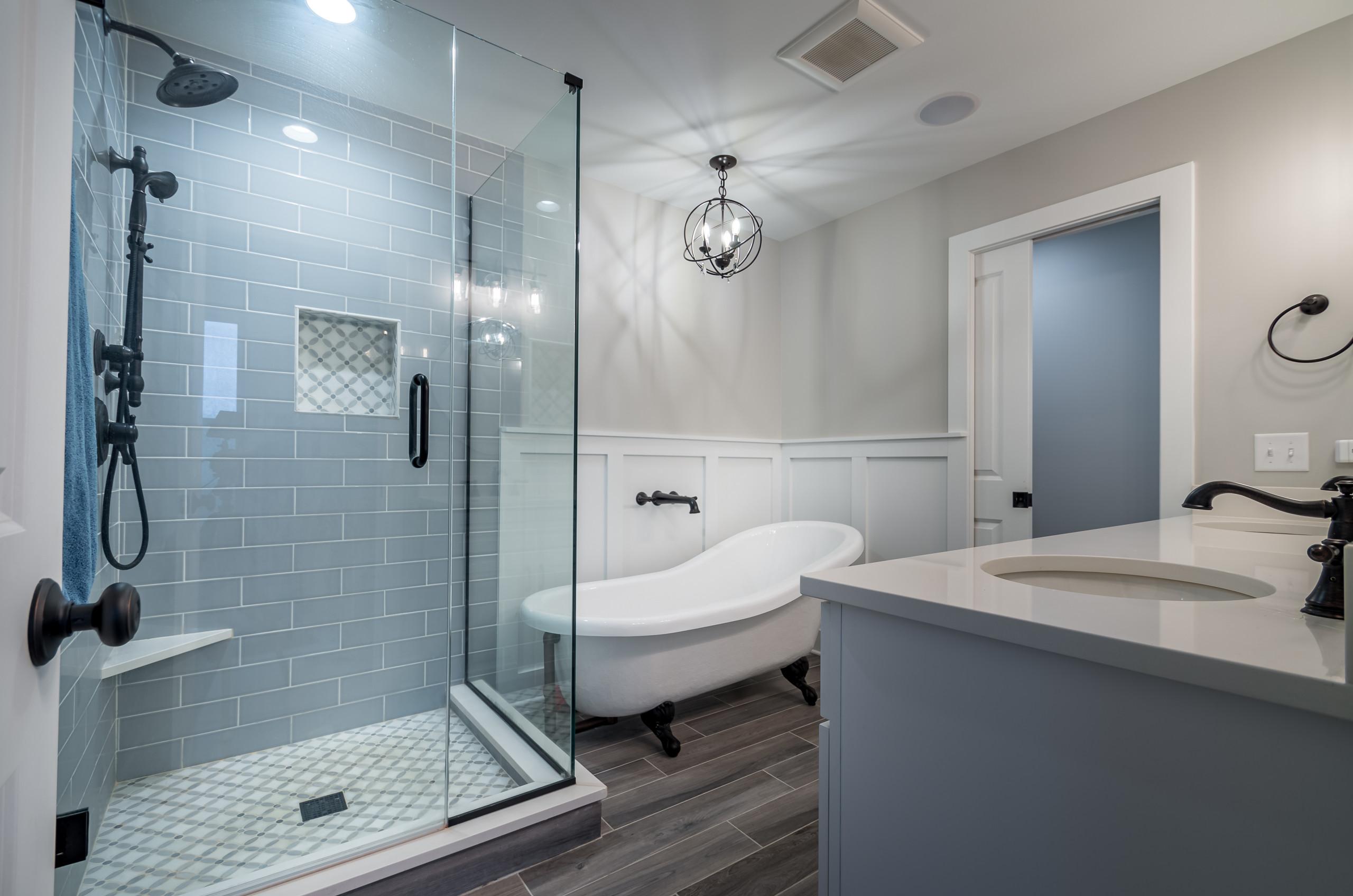 Historic Farmhouse Master Bathroom