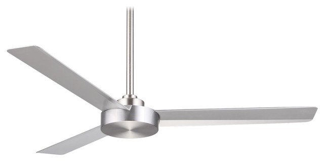 Minka Aire Roto Brushed Aluminum 52 Ceiling Fan.