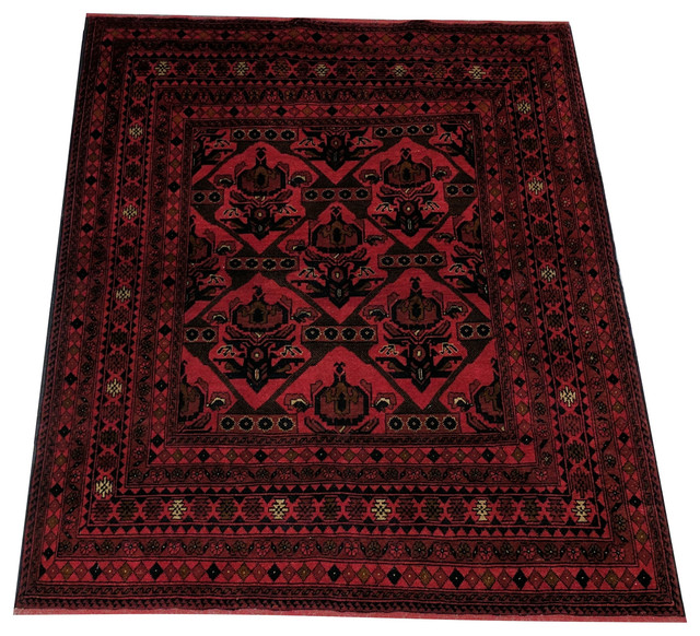 Shop Houzz Northside Carpet Afghani Balouch 39 5x7 39 Rug
