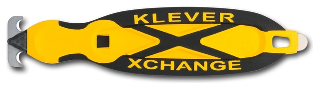 Klever Xchange In Yellow, Yellow/black, Two-Sided Curve Head.