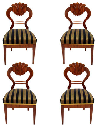 Consigned Set Of 4 Biedermeier Chairs