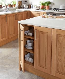 cooke lewis chesterton solid oak classic standard door w 400mm