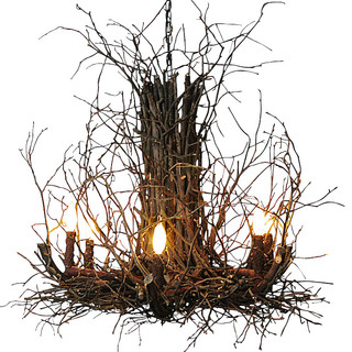 Appalachian Branch Chandelier   Rustic   Chandeliers   By Indeed Decor