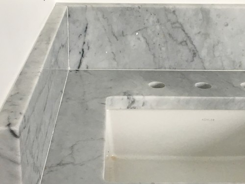 Carrara Marble Caulk Help
