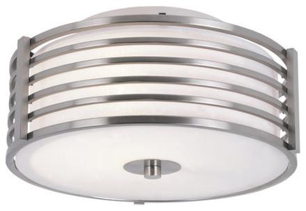 Trans Globe Lighting 10040 2 Light Flushmount Ceiling Fixture From The Pendants.