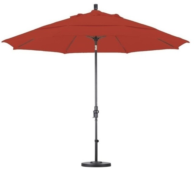 California Umbrella 11 Market Patio Umbrella Royal Blue