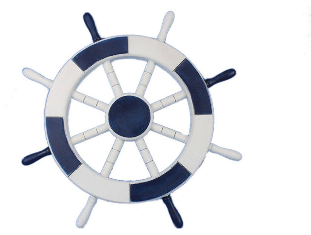 Captains Wheel Decor