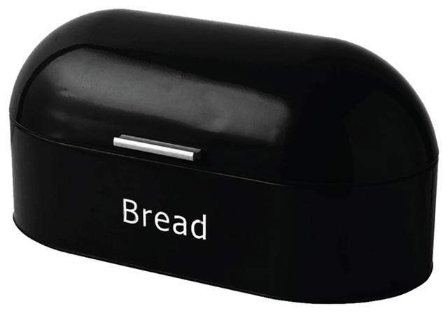 Chef Vida Retro Bread Bin, Black