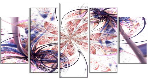 Multi Panel Abstract Wall Art