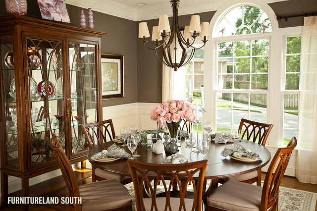 Custom Designed Traditional Home Traditional Dining Room Charlotte By