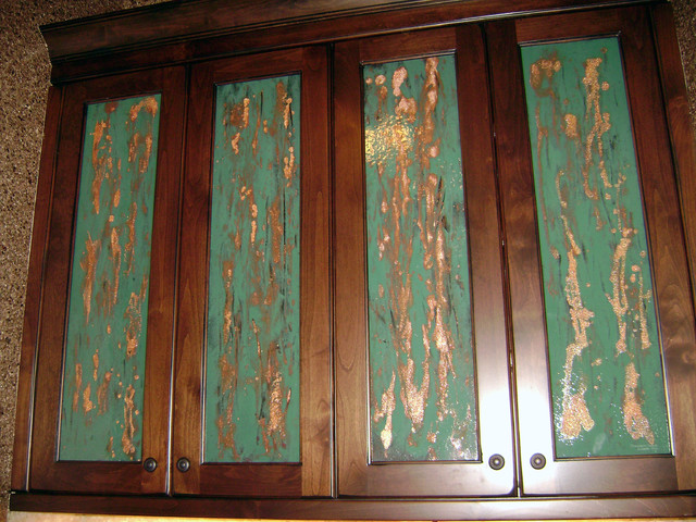 cabinet door inserts traditional