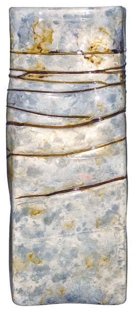 Moon Dance Large Square Glass Vase