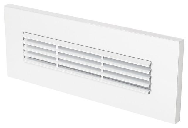 louver horizontal led brick light - contemporary
