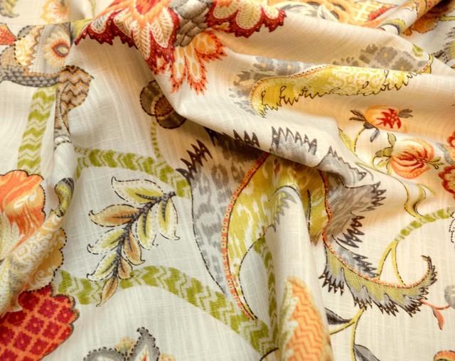Finders Keepers Spice Pkaufmann Fabric, Sample