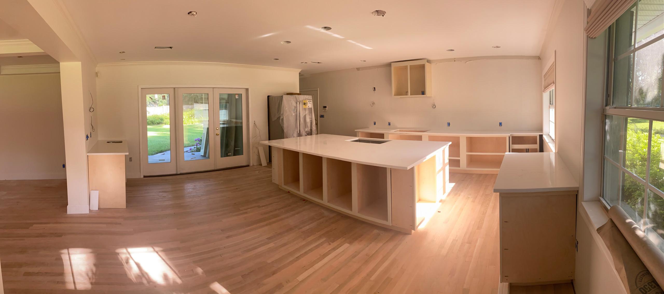 Exline Interior Remodel (In Progress)