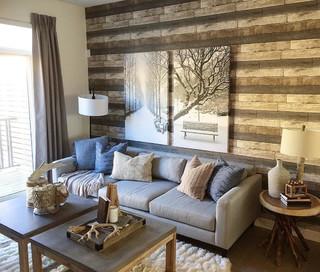 Dustin Gray Shiplap Wood Rustic 2686 20198 Farmhouse Wallpaper By D Marie Interiors