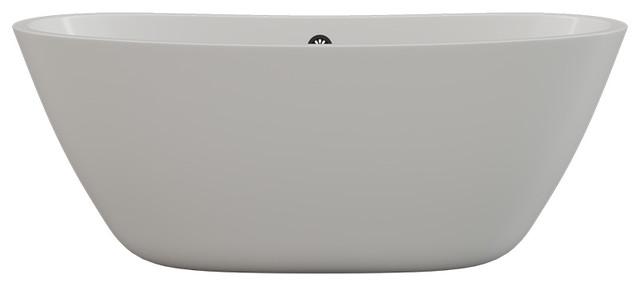 """69"""" Modern Acrylic Tub, """"Gasconade"""""""