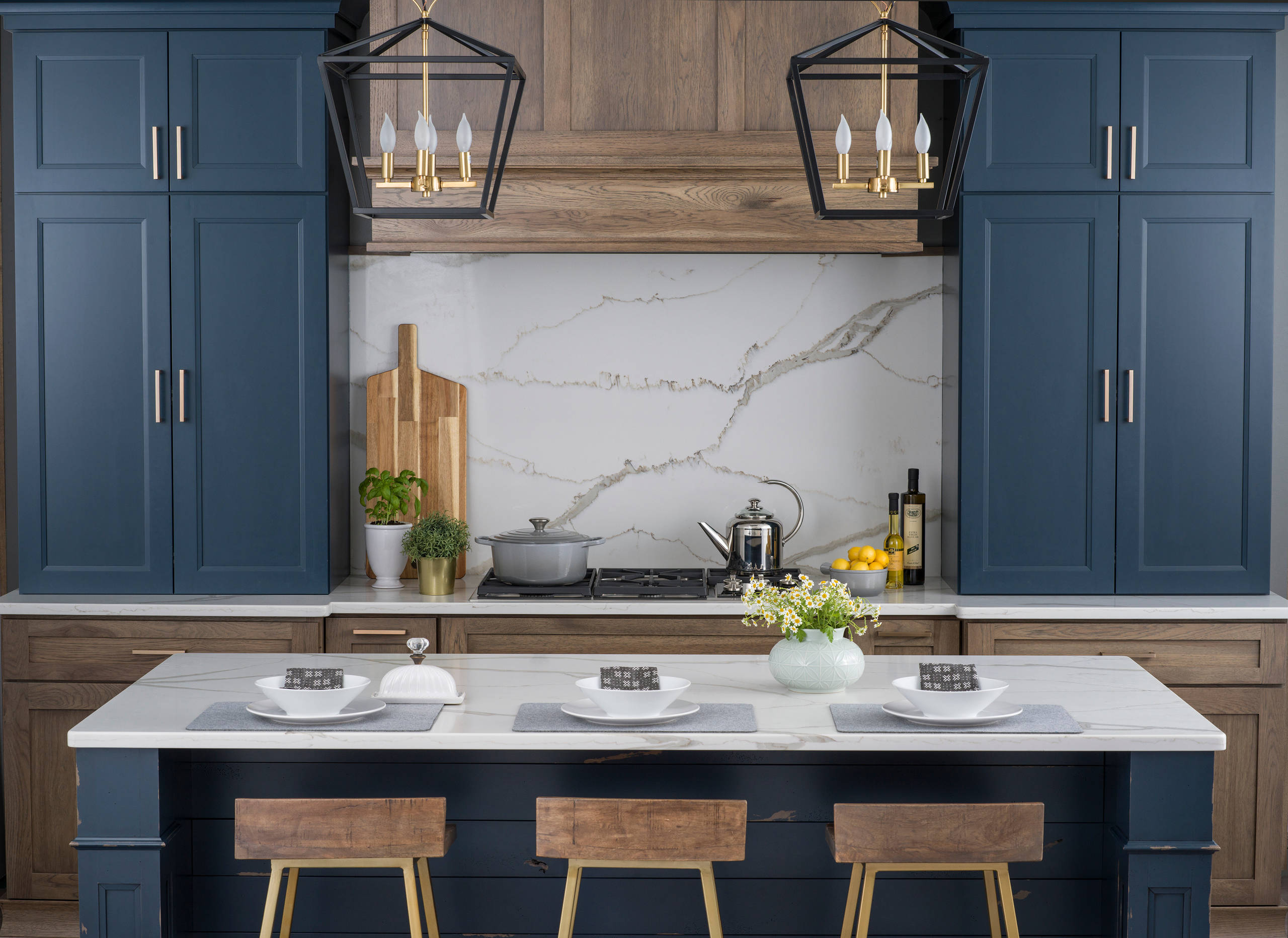 Dempsey Style in Gale Force Finish - Dura Supreme Cabinetry