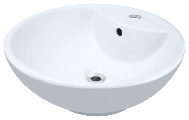 Polaris P2072VW Porcelain Vessel Sink