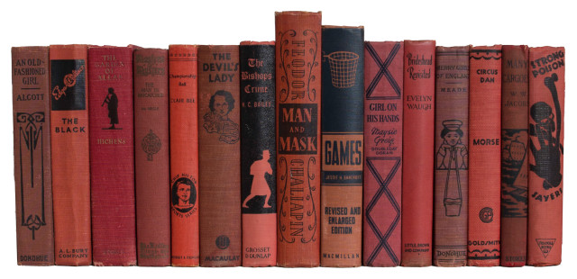 Vintage Brick Onyx Book Set S 15 Traditional Books By Booth Williams