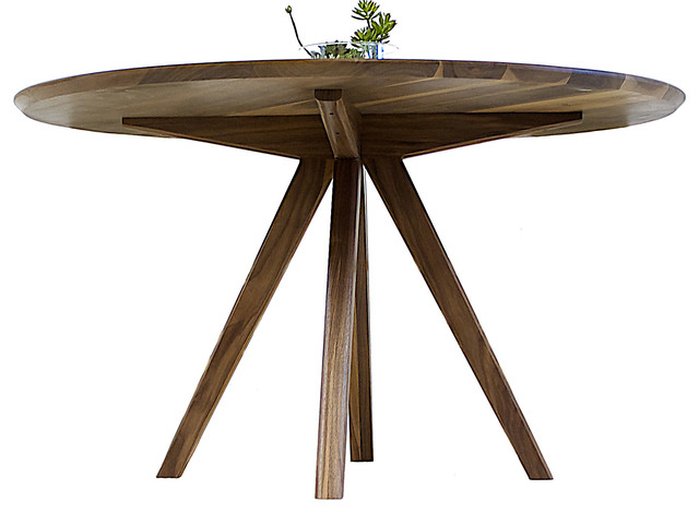 The mila midcentury inspired round dining table 52 for 52 kitchen table