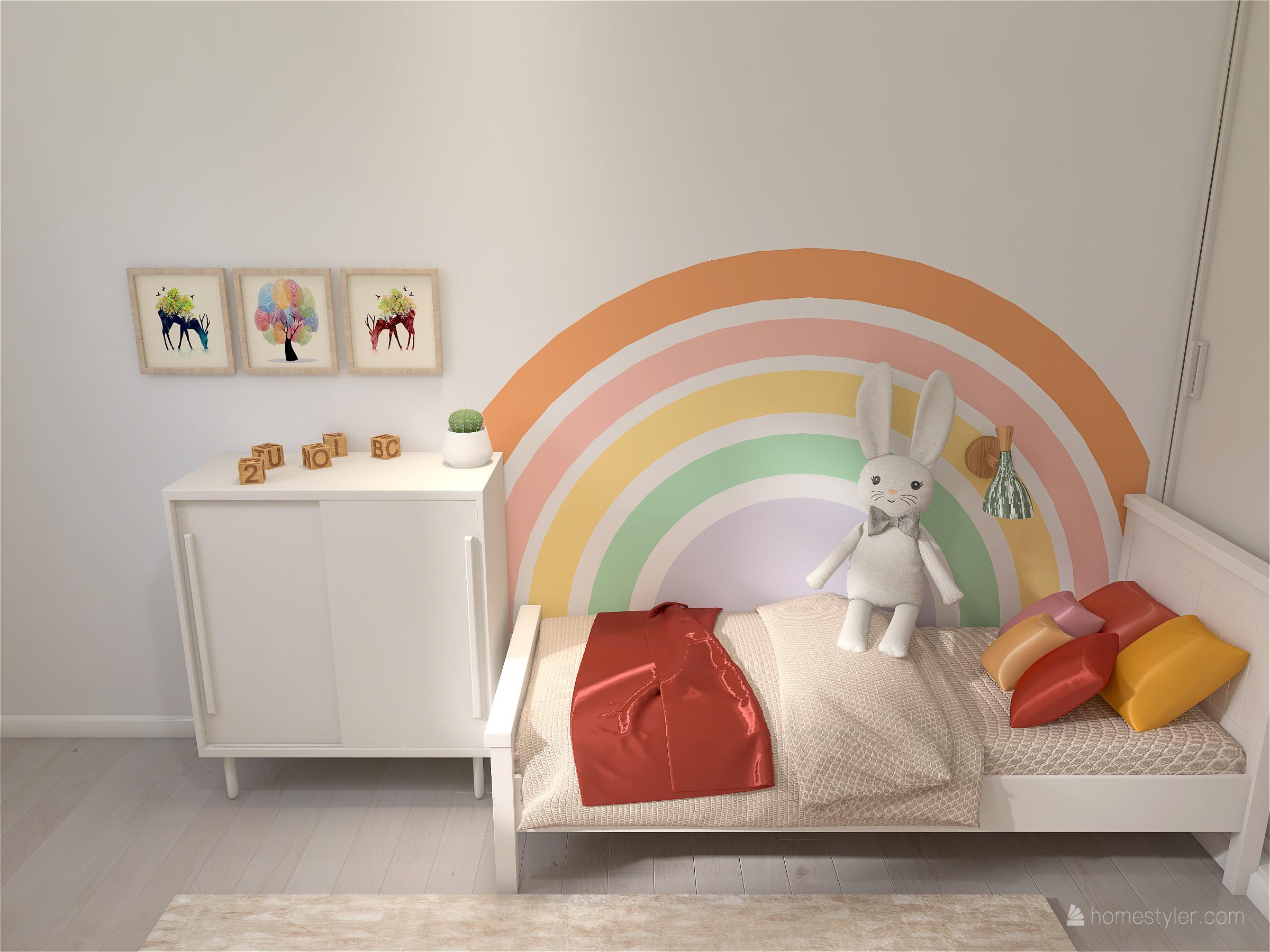 Projet Velizy - Aménager une chambre pour deux enfants