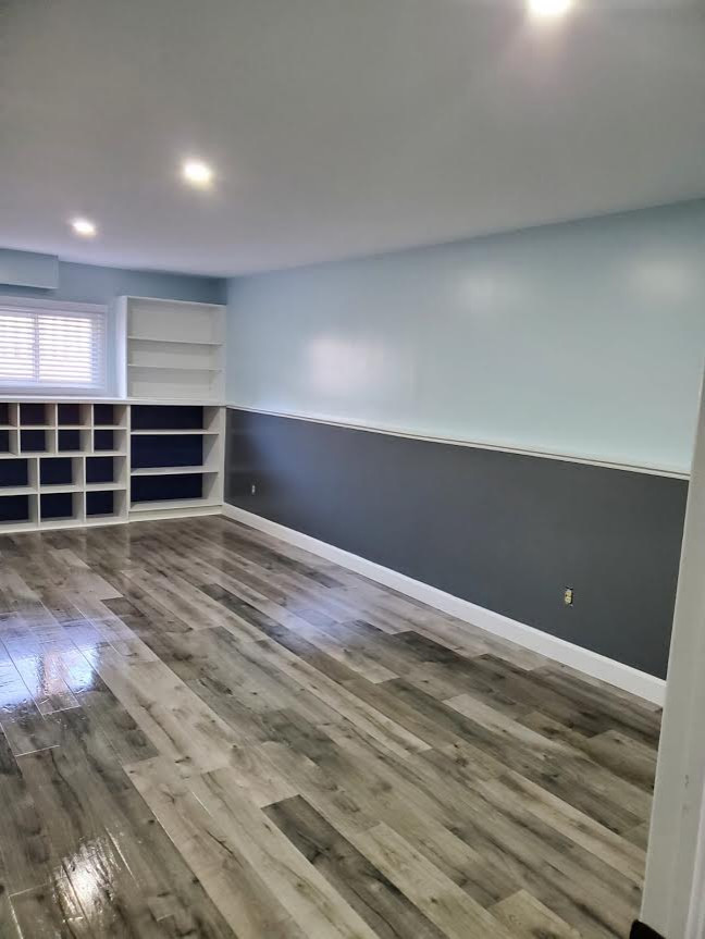 Contemporary Basement Remodel