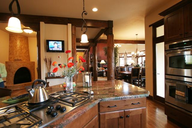 Pueblo Southwest Style Traditional Kitchen Denver