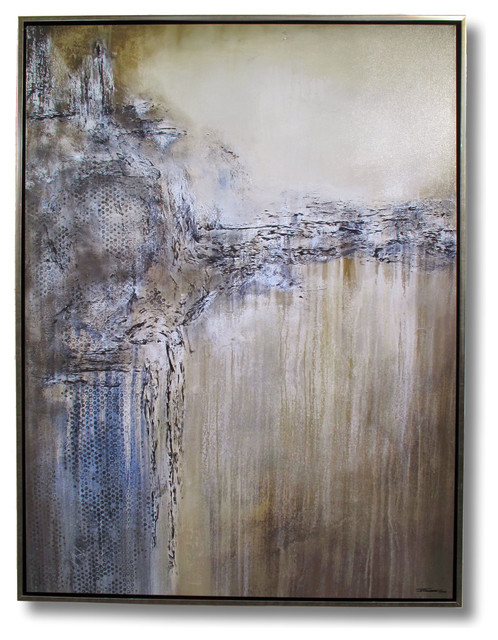 Abstract Modern Contemporary Limited Edition Painting Framed by ELOISExxx