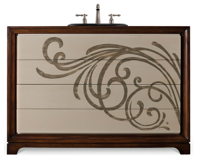 Cole Co Chambers Vanity Chest Turquoise