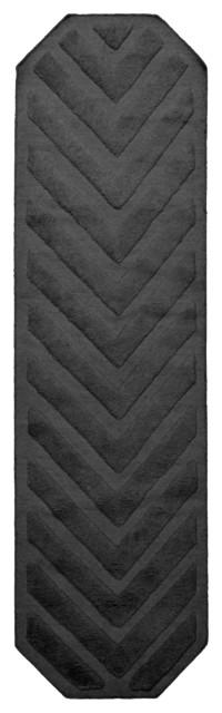Path Runner Rug, Stone Grey, 265x75 cm