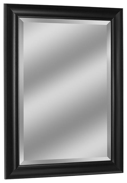 Contemporary Black Mirror, 30.5x42.5 by Head West, Inc.