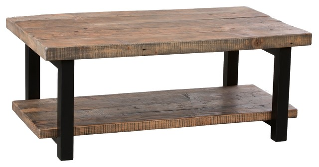 Bolton Furniture Inc Pomona Coffee Table Rustic Natural Coffee Tables Houzz