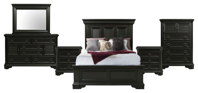 Picket House Furnishings Bradshaw King Storage 6 Piece Bedroom Set