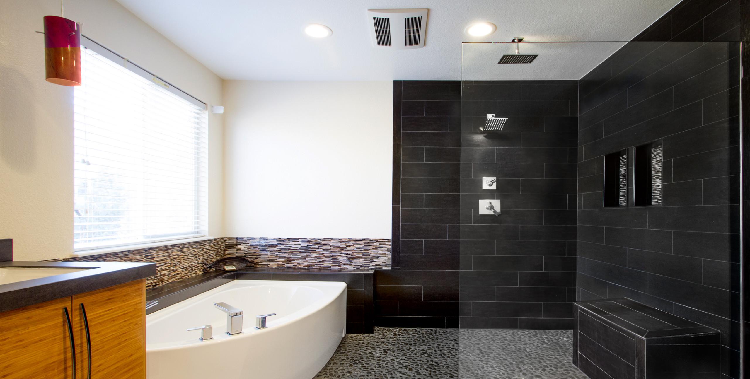 Asian-inspired Master Bath in Littleton
