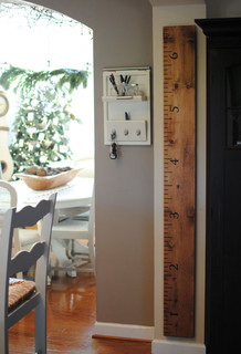 Oversized Ruler Growth Chart traditional kids decor