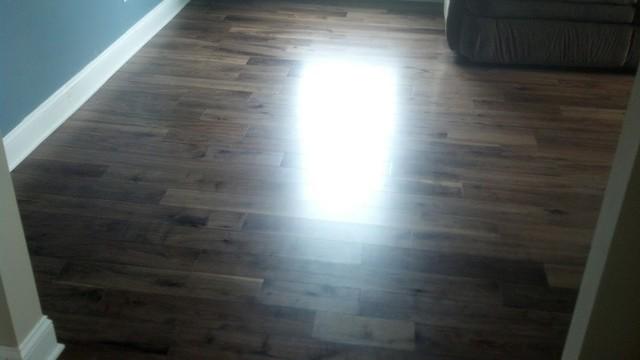 Somerset Prefinished 5 American Walnut Wood Floor Installation