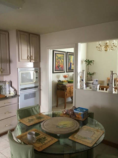 Before and after Kitchen remodel in Tarzana