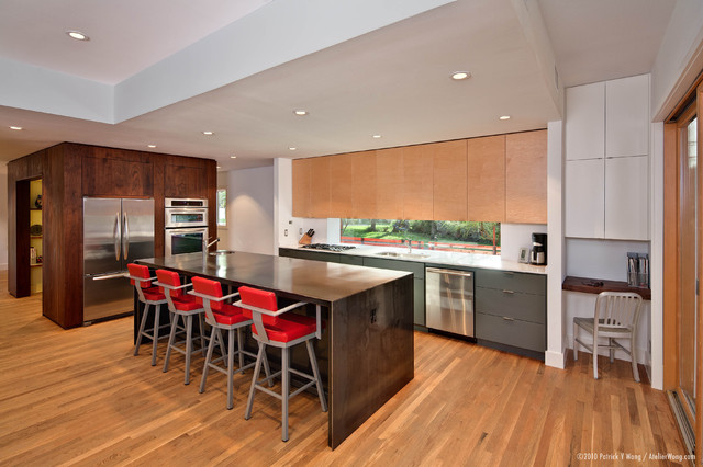 contemporary kitchen by Stuart Sampley Architect