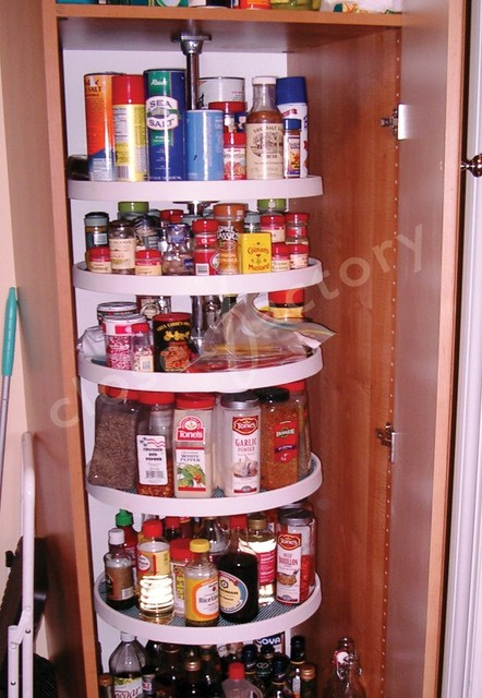 Attractive Closet Factory Pantry Cabinet With Carousel