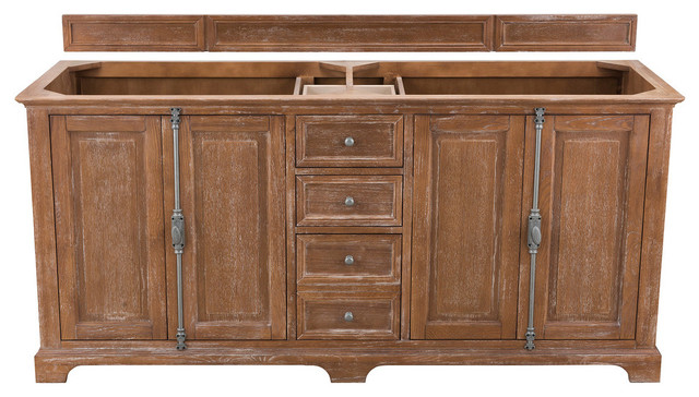 "Providence 72"" Double Vanity, Without Top"