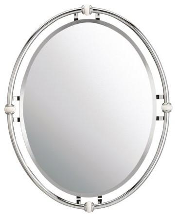 Kichler Pocelona Chrome Mirror. -1